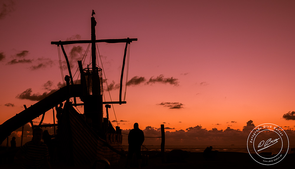 Sonnenuntergang Cuxhaven Döse