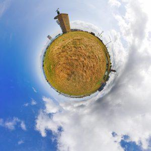 Little Planet Radarturm Alte Liebe